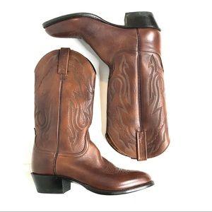 LUCCHESE 2000 Cowboy Boots Desert Brown 11 D / 9 D